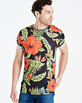 Jacamo Summer Punch Sub T-Shirt Long