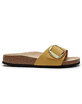 Birkenstock Madrid Big Buckle Leather Mule
