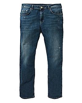 Loose Indigo Premium Wash Jeans