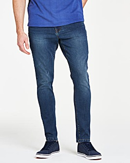 Slim 4 Way Stretch Indigo Jeans