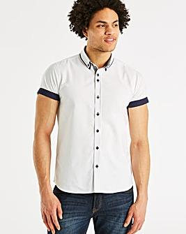 Jacamo Black Label Oxford SS Shirt R