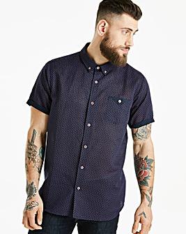 Jacamo Black Label Linen SS Shirt R