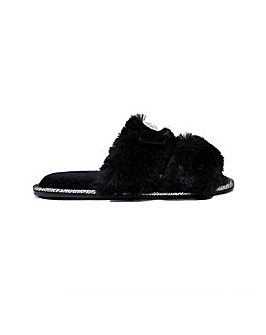 Pretty You London Assisi Slider Slippers for Women