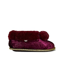 Pretty You London Annabel Bootie Slippers for Women