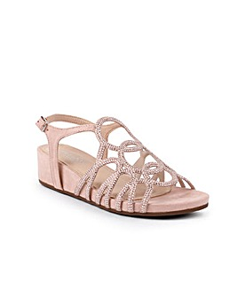 Paradox London Winner Wedge Sandals