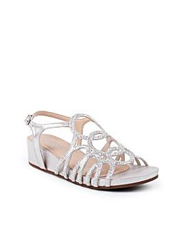 Paradox London Winner Wedge Sandals