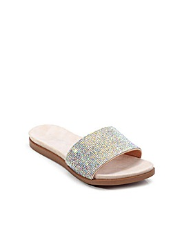 Paradox London Willow E Wide Fit Sandals