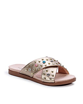 Paradox London Wanda E Wide Fit Sandals