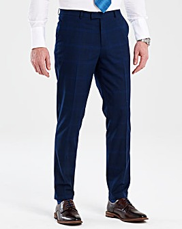 Flintoff By Jacamo Blue Trousers 33in