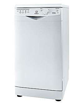 Indesit Slimline Dishwasher White