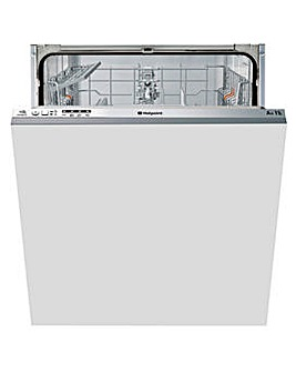 Hotpoint Aquarius LTB4B019 Fullsize Dishwasher White