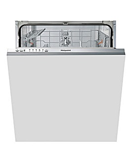 Hotpoint HIE 2B19 UK Fullsize Dishwasher White