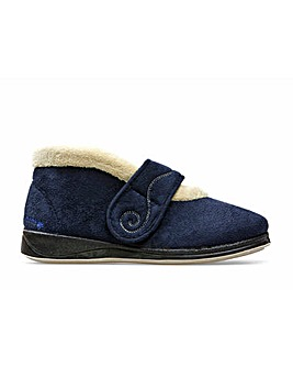 Padders Hush Slippers Extra Wide EE Fit