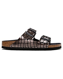 Birkenstock Arizona Gator Gleam Mules