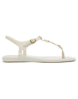Melissa x Vivienne Westwood Solar Orb Toe Post Sandals