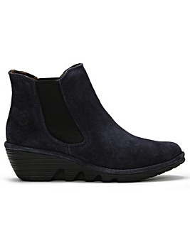 Fly London Phil Wedge Suede Chelsea Boots