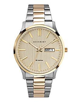 Accurist Two Tone Bracelet Watch