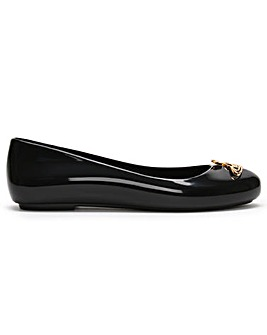 Vivienne Westwood x Melissa Space Love 22 Cut Out Orb Ballerina Flats