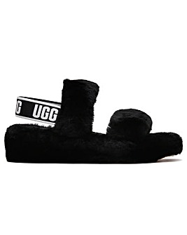 UGG Fluff Oh Yeah Sheepskin Sliders