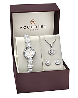 Accurist Ladies Classic 4 Piece Gift Set