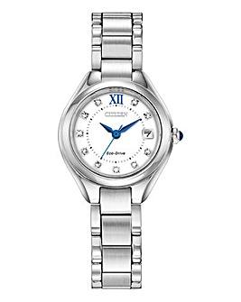 Citizen Eco Drive Crystal Bracelet Watch