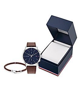 Tommy Hilfiger Watch & Bracelet Giftselt