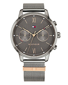Tommy Hilfiger Multi Function Mesh Watch