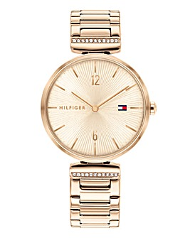 Tommy Hilfiger Rose Gold Bracelet Watch