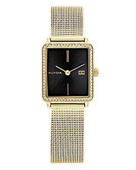 Tommy Hilfiger Square Face Mesh Watch