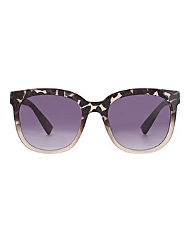 Marrissa Leopard Oversized Sunglasses