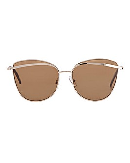 Isla Cat Eye Aviator Styles Sunglasses