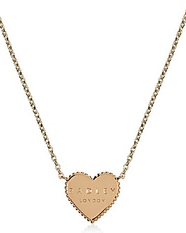 Radley Rose Gold Heart Necklace