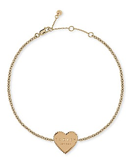 Radley Gold Plated Heart Bracelet