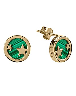 Radley Gold Plated Malachite Earrings