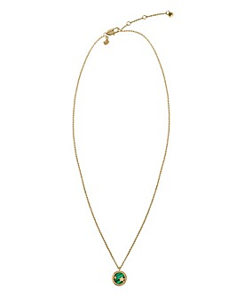 Radley Gold Plated Malachite Necklace