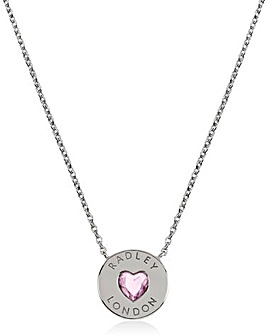 Radley Sterling Silver Heart Necklace