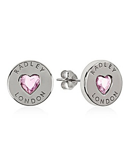 Radley Sterling Silver Heart Earrings