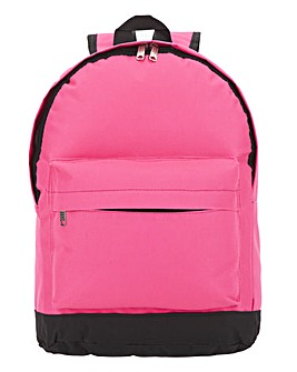 Bright Pink Backpack