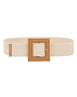 Oversized Square Waist Belt
