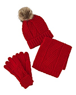 Darby Red Gift Set