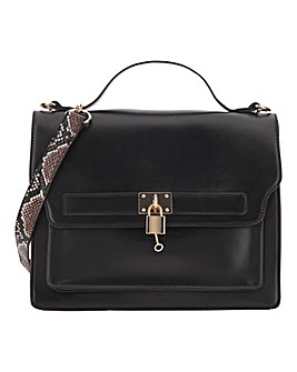 Large Cross Body Bag With Chain Straps
