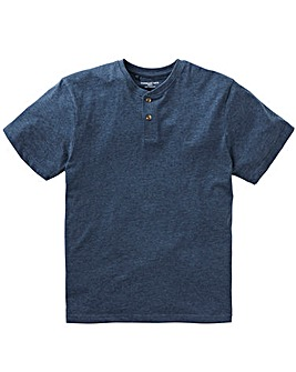 Denim Grandad T-shirt Long