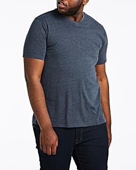 Denim V-Neck T-shirt
