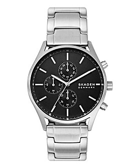 Skagen Chronograph Holst Watch Silver