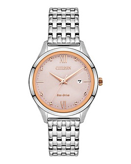 Citizen Ladies Ecodrive Pink Watch