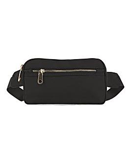Utility Crossbody Bag With Zip Pocket