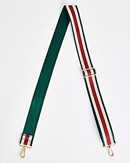 Stripe Detachable Bag Strap