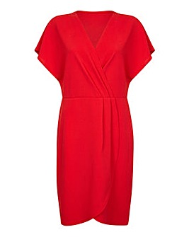 Mela London Curve Wrap Party Dress