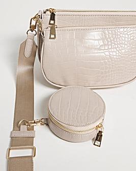 3 In 1 Multi Use Cross Body Bag