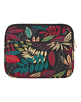 Tropical Printed Laptop Case